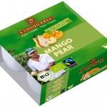 Mango: Fruchtdessert Mango Birne