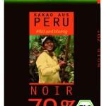 Schokolade: Bitter-Schokolade 70% mit Kakao aus Peru
