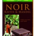 Schokolade: Zartbitter-Schokolade mit Kaffee und Mandeln