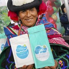 Kaffeebäuerin der Genossenschaft CECOVASA (Puno) in Peru21, Foto (c) Difusión