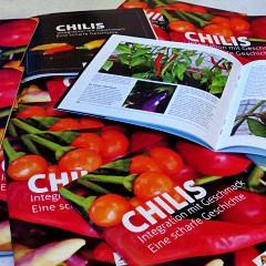 Chilis, Integration mit Geschmack. Eine scharfe Geschichte
