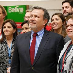 Botschafter Elmer Schialer auf der ITB in Berlin, © Peru-Vision