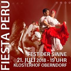 5. FIESTA PERÚ am 21. Juli 2018 in Oberndorf am Neckar