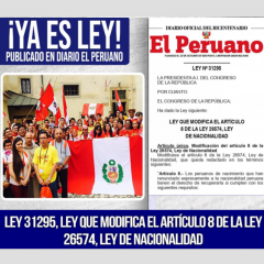 Können Peruaner, die in Deutschland eingebürgert wurden, die peruanische Staatsangehörigkeit zurückerhalten?