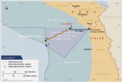 Landkarte mit Grenzpunkte nach Urteilsverkündung, Quelle: Grupo Geo Graphos 2007