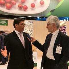 Exportdirektor von PromPeru Mario Ocharan im Gespräch mit Peru-Vision