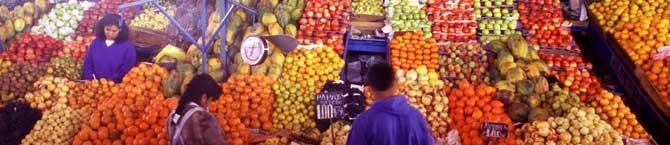 Produkte aus Peru