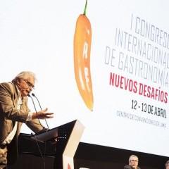 Erster internationaler gastronomischer Kongress in Peru