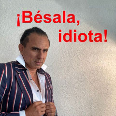 Bésala idiota - neuester Roman von Jorge Irribarren