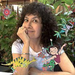 Die peruanische Illustratorin Betty Conhoff veröffentlicht ihr erstes Bilderbuch in deutscher Sprache