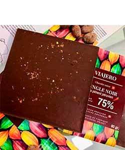 Dunkle Schokolade mit Chili