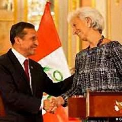 IWF-Chefin Christine Legarde, Bild: AFP/Ernesto Benavides.