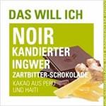 Noir-Schokolade Kandierter Ingwer - ETHIQUABLE