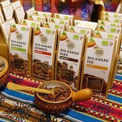 Peruanische Produkte auf der Messe Fair Handeln in Stuttgart