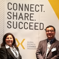 Peruanische und deutsche Unternehmer in Essen