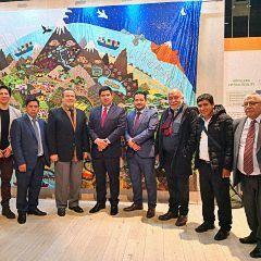 Vertreter der Region Huancavelica auf der Fruit Logistica und BioFach zu Besuch