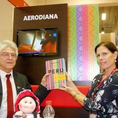 Peru-Vision mit der Geschäftsführerin von Aerodiana, Mónica Camacho