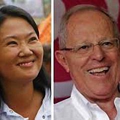 Stichwahl in Peru: Kopf-an-Kopf-Rennen