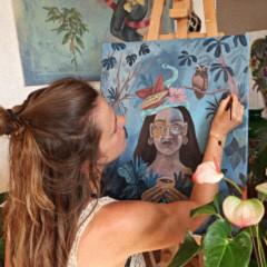 PERU - Fuente de inspiración: El arte de NORA TEICHERT