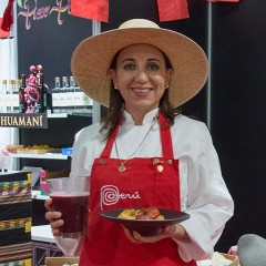 Monica Huerta - Ehrengast an der Basler Feinmesse 2019