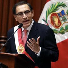 Regierungsrede des Präsidente Martín Vizcarra, Foto © Andina