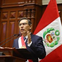 Regierungsrede Vizcarra, Foto: Andina